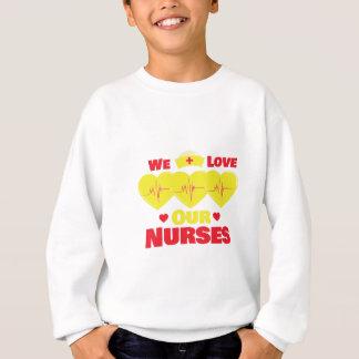 Liebe-Krankenschwestern Sweatshirt
