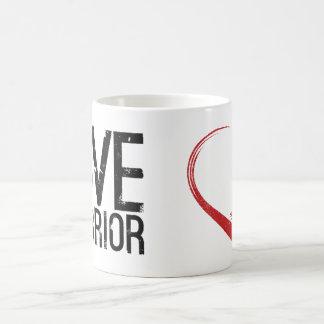 Liebe-Krieger-Klassiker-Tasse Kaffeetasse