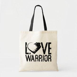 Liebe-Krieger-Taschen-Tasche Budget Stoffbeutel
