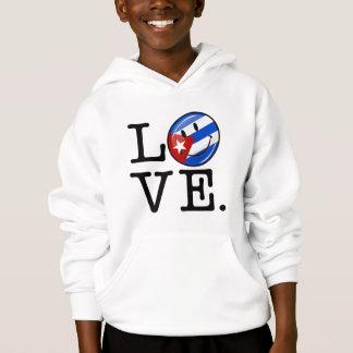 Liebe-Kubaner-Art Hoodie