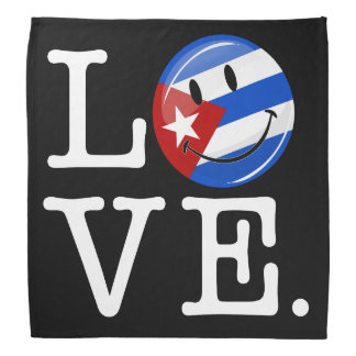 Liebe-Kubaner-Art Kopftuch