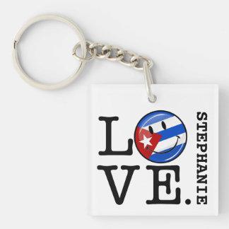 Liebe-Kubaner-Art Schlüsselanhänger
