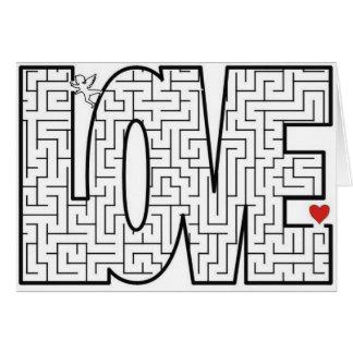 Liebe-Labyrinth Karte