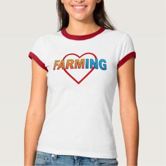 Liebe Landwirtschaft T-Shirt