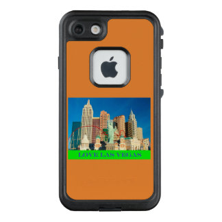 Liebe-Las- Vegastelefon-Kasten LifeProof FRÄ' iPhone 8/7 Hülle