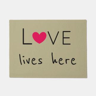 Liebe lebt hier am niedlichsten türmatte