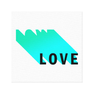 Liebe-Leinwanddruck Leinwanddruck