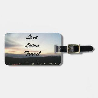 Liebe, lernen, reisen kundengerechter Gepäck-Umbau Gepäck Anhänger