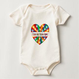 Liebe Lhasas Apso Baby Strampler
