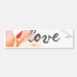 Liebe-Liebe-Liebe Autoaufkleber