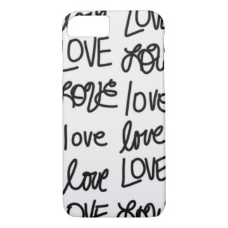 Liebe-Liebe-Liebe iPhone 8/7 Hülle