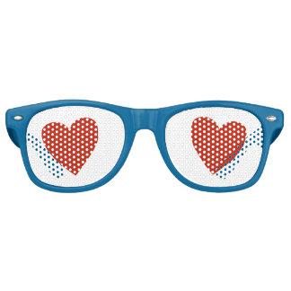 Liebe-Liebe Retro Sonnenbrillen