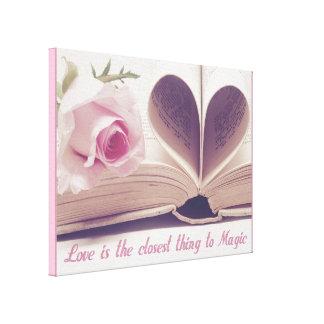 Liebe-Magie Leinwanddruck