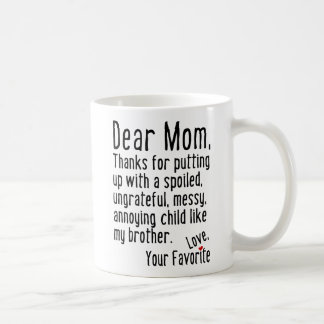 Liebe Mamma [Bruder-Version] Kaffeetasse