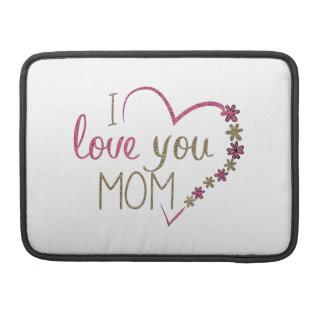 Liebe-Mamma-Mutter-Tagesherz Sleeve Für MacBook Pro