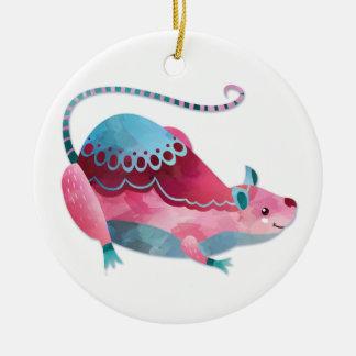 Liebe-Maus Keramik Ornament
