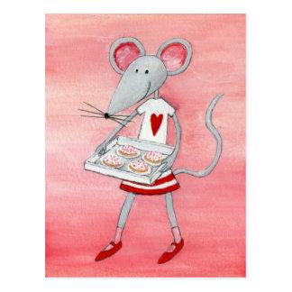 Liebe-Maus u. Mäuse Postkarte