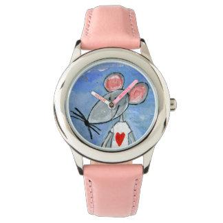 Liebe-Mäuseuhr Uhr