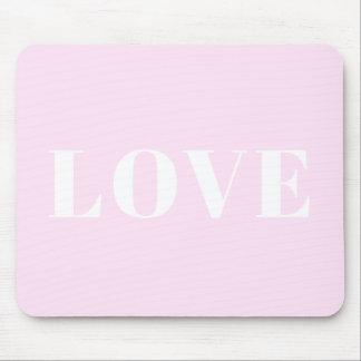 Liebe-Mausunterlage V.3 Mousepad