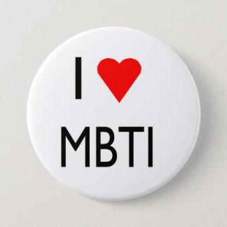 Liebe MBTI Runder Button 7,6 Cm