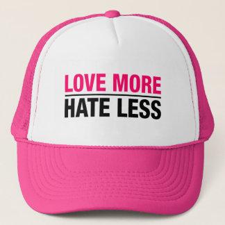 Liebe mehr Hass weniger Truckerkappe