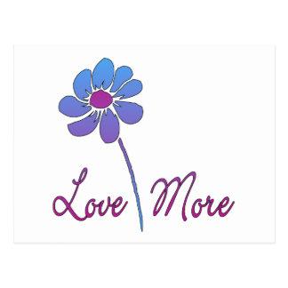 Liebe mehr postkarte