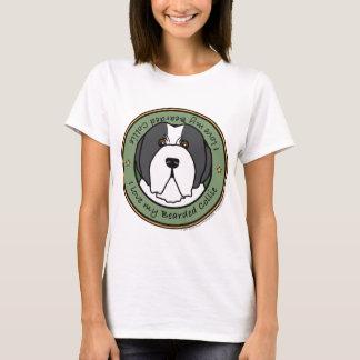 Liebe mein Beardie T-Shirt