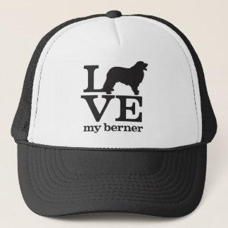 Liebe mein Bernese Gebirgshund Truckerkappe
