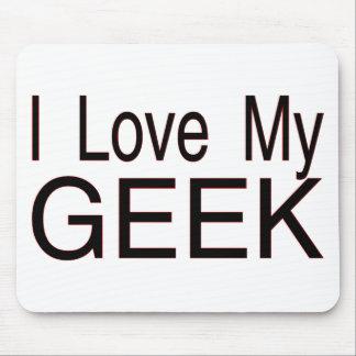 Liebe mein Geek Mousepad