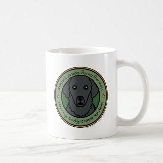 Liebe mein Gelockt-Überzogener Retriever Kaffeehaferl