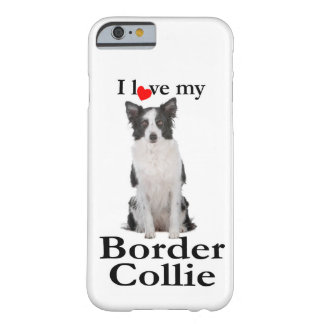 Liebe mein Grenzcollie Smartphone Fall Barely There iPhone 6 Hülle
