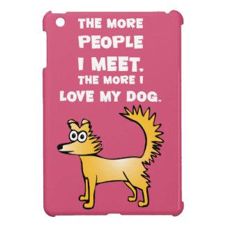 Liebe mein Hund iPad Mini Hülle