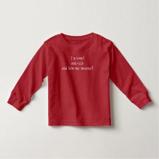 """""""Liebe mein Mama"""" Baby-feiner Jersey-T - Shirt, Kleinkind T-shirt"""