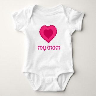 Liebe mein Mammababybodysuit Babybody