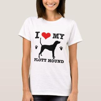 Liebe mein plott Jagdhund T-Shirt