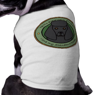 Liebe mein Pudel Haustierhemd