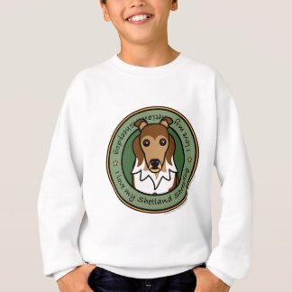 Liebe mein Sheltie Sweatshirt