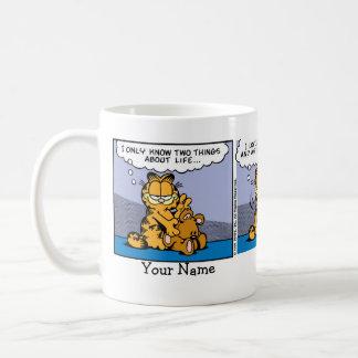 """""""Liebe mein Teddy-Bärn-"""" Garfield-Comic-Streifen Kaffeetasse"""