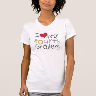 Liebe mein vierte Sortierer-Damen-Petite T - Shirt