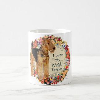 Liebe mein Waliser-Terrier Kaffeetasse