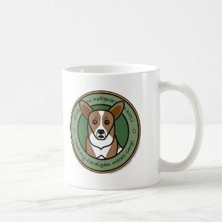 Liebe mein WolljackeCorgi Kaffeetasse