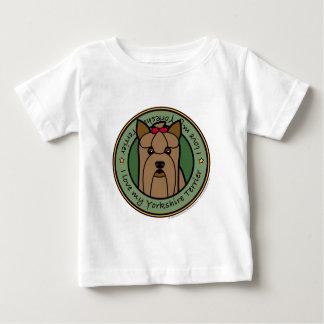 Liebe mein Yorkie Baby T-shirt