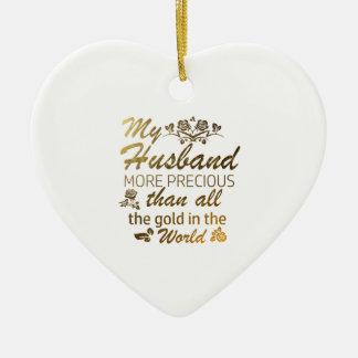 Liebe meine Ehemannentwürfe Keramik Herz-Ornament