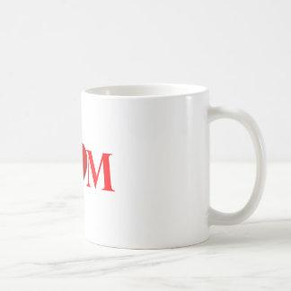 Liebe meine Mamma - klassische weiße Tasse