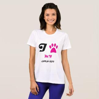 Liebe meine Tatze Shih Tzu T-Shirt