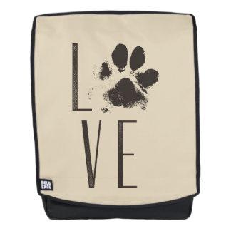 Liebe mit rucksack