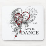 Liebe, Mousepad zu tanzen
