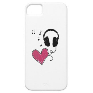 Liebe-Musik iPhone 5 Hülle