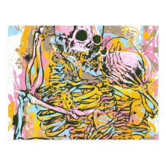 Liebe nach Tod Postkarte