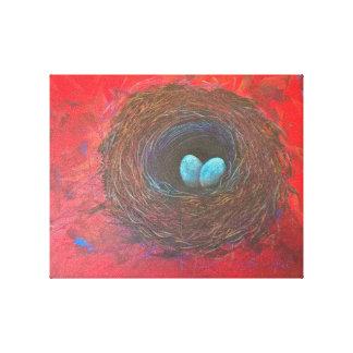 Liebe-Nest-Druck Leinwanddruck